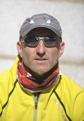 Fabien Brusson, coureur cam�raman